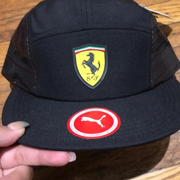 6e7164ed6b5 puma adjustable ferrari hat. NWT